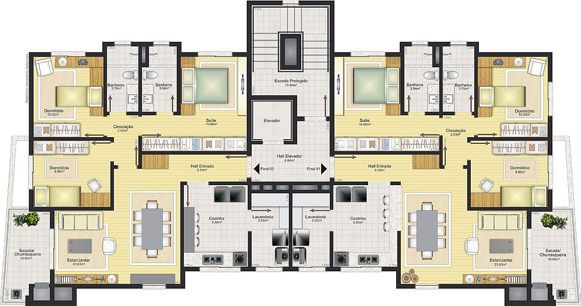 Preferência Empreendimentos | Pasqualini Empreendimentos Imobiliários JN87